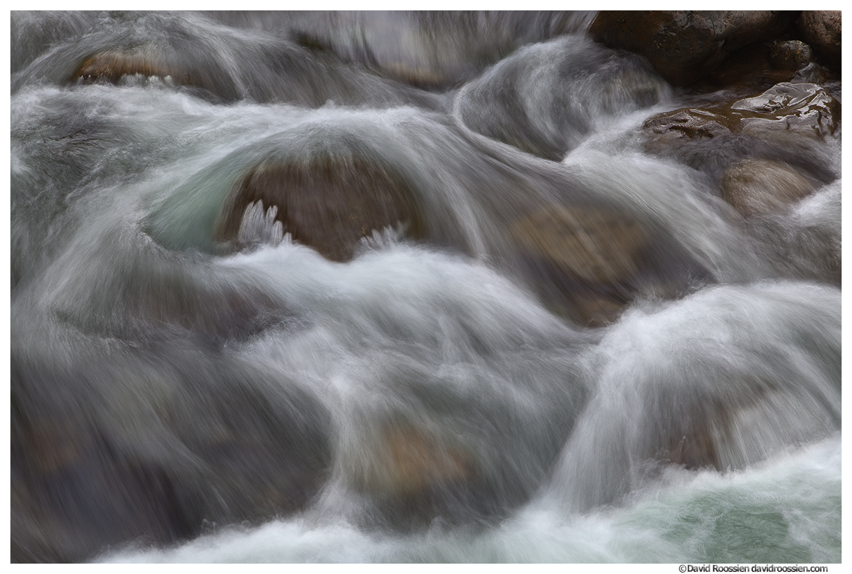 South Fork Snoqualmie River Rapids, North Bend, Washington State, Spring 2015
