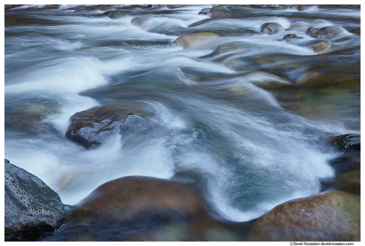 Silky South Fork Snoqualmie Rapids, Washington State, Fall 2015