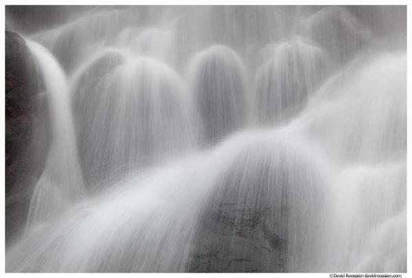 Rocky Brook Falls Closeup, Dosewallips River, Brinnon, Olympic National Park, Washington State, Winter 2015