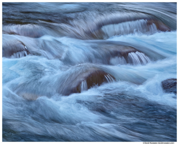South Fork Snoqualmie River Detail, Twin Falls, Washington State, Spring 2016