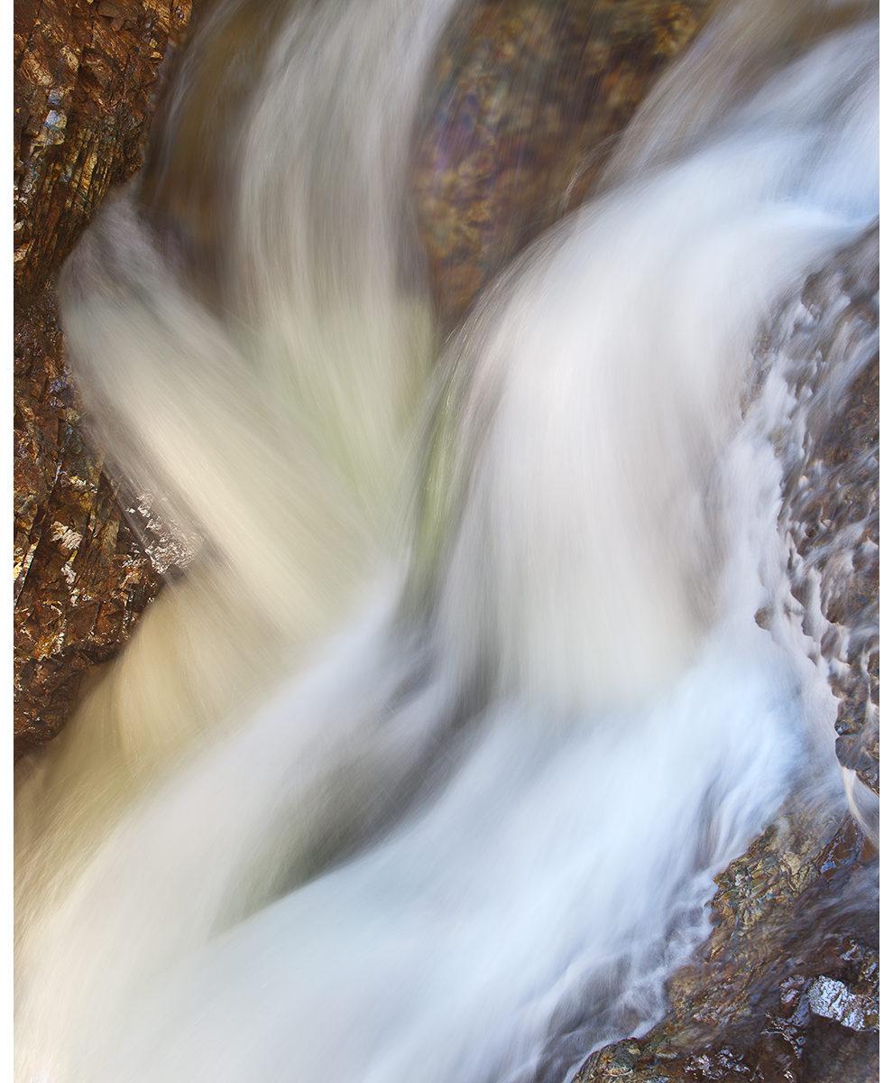 Spring Flows, Franklin Falls, Denny Creek, Snoqualmie Pass, Washington State, Spring 2016