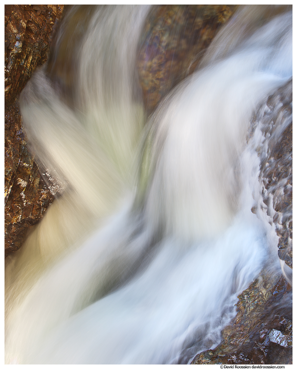 Spring Flows, Franklin Falls, Denny Creek, Snoqualmie Pass, Washington State, Spring 2016