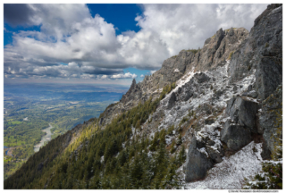 View From Mount Si Looking Toward Seattle, Spring 2017