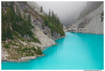 Foggy Pass, Jade Lake, Snoqualmie Region, Washington State