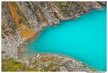 Glacier Inlet, Jade Lake, Snoqualmie Region, Washington State