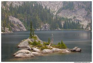 Tuck Island, Tuck Lake, Cle Elum, Washington