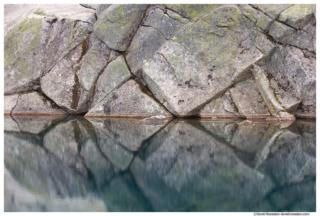 Granite Blocks, Robin Lake, Cle Elum, Washington