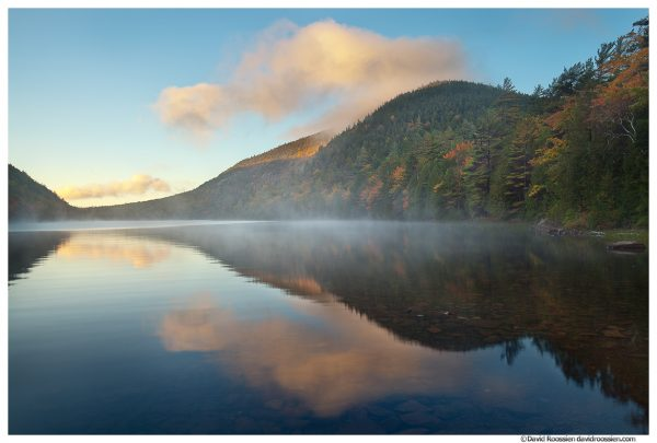 Bubble Pond and Mermaid Tail, Acadia National Park