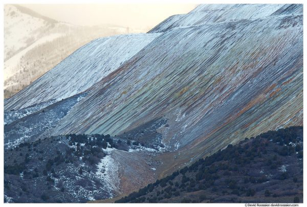 Kennecott Copper Mine, Salt Lake City, Utah, Winter 2014