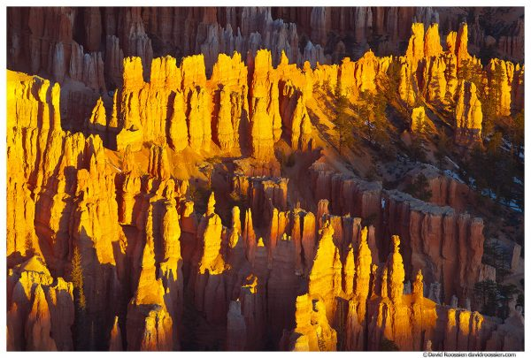 Silent City Overlook, Bryce Canyon National Park, Utah, Winter 2014