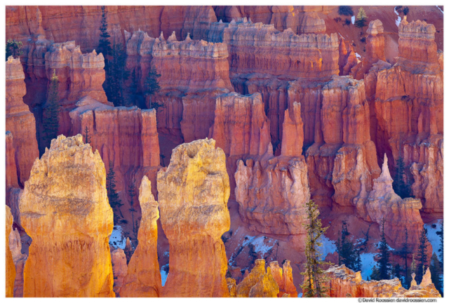 Reflected Light, Bryce Canyon National Park, Utah, Winter 2014