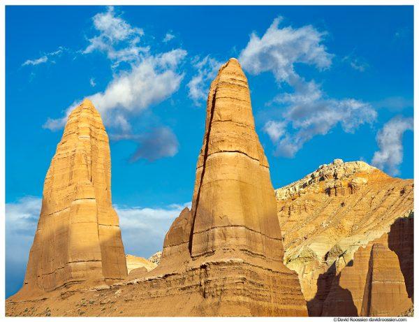 Pinnacles, Upper Cathedral Valley, Capitol Reef National Park, Utah, Spring 2014