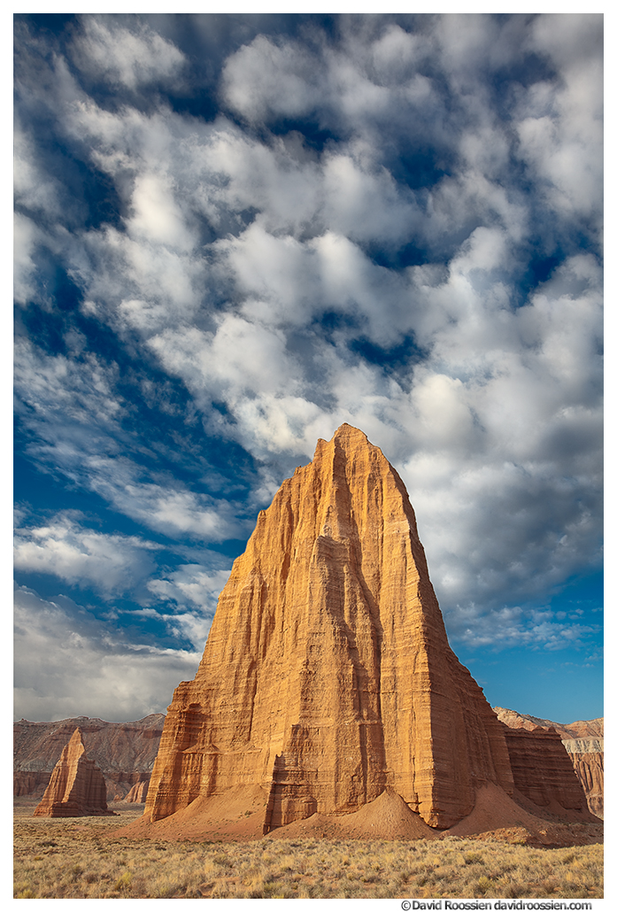 Temple Of The Sun and Moon, Capitol Reef National Park, Utah, Spring 2014