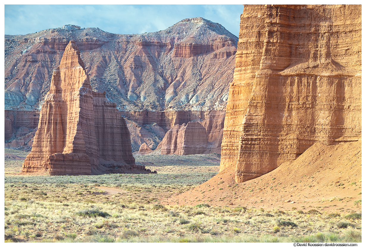 Temple Of The Moon, Cathedral Valley, Capitol Reef National Park, Utah, Spring 2014