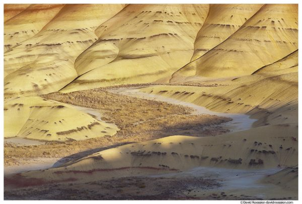 Unpainted Valley, Painted Hills of Oregon, Painted Hills National Monument, Mitchell, Oregon, Fall 2016