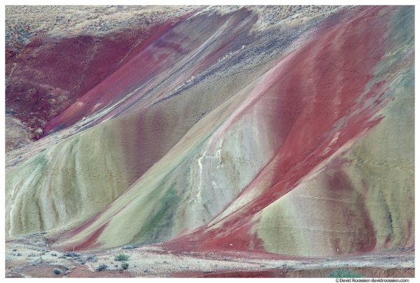 Laterite Layers, Painted Hills of Oregon, Painted Hills National Monument, Mitchell, Oregon, Fall 2016