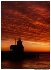 Big Red Holland Lighthouse, Holland, Michigan