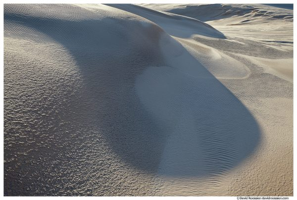 Spoon Shaped Shadow, Silver Lake Sand Dunes, Lake Michigan