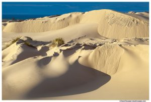 Storm Light on Dune, Silver Lake Sand Dunes, Oceana County, Lake Michigan