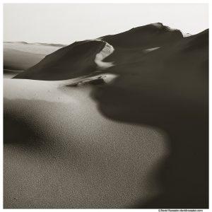 Dune Texture and Shadows, Silver Lake, Oceana County, Michigan
