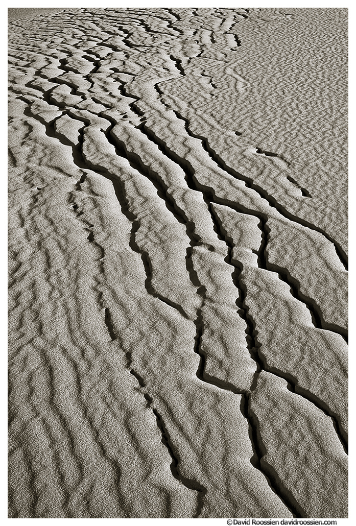 Dune Cracks, Oceana County, Lake Michigan