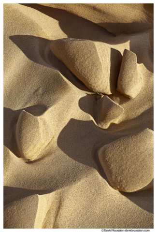 Sand Detail and Shadows, Silver Lake Sand Dunes, Michigan