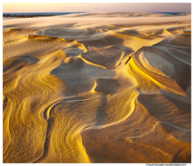 Dune Over Lake Michigan, Silver Lake Sand Dunes, Michigan