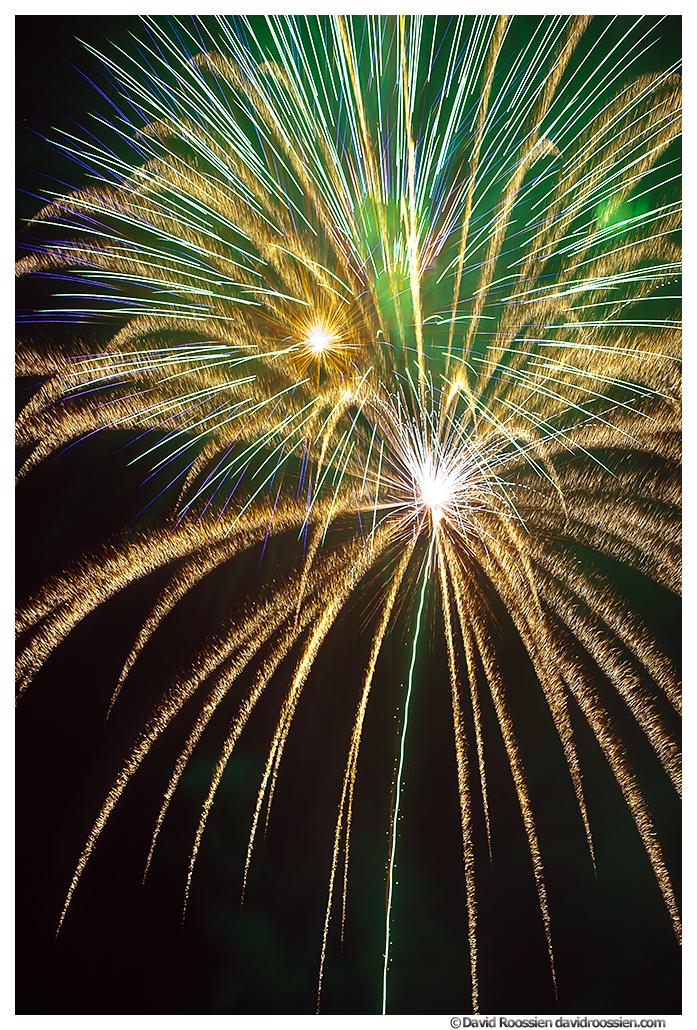 Markey Park Fireworks, Belton, Missouri, Summer 2014