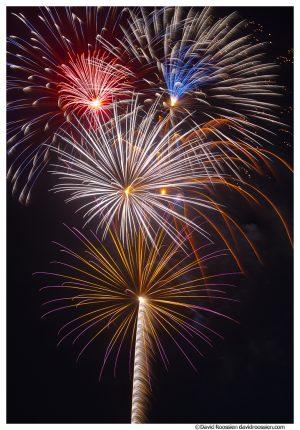 Parkville Missouri Fireworks, Independence Day, 2014