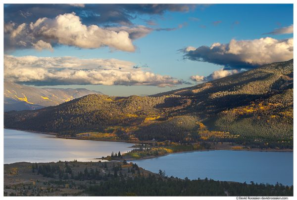 Clearing Storm Over Twin Lakes, Colorado