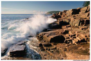 Crashing Wave, Thunder Hole, Acadia National Park, Maine