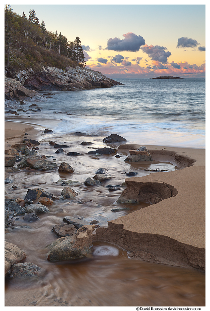 Creek at Sand Beach, Acadia National Park, Maine