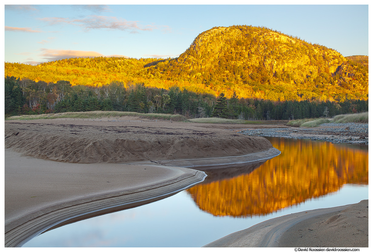 Beehive Reflection, Sand Beach, Acadia National Park, Maine