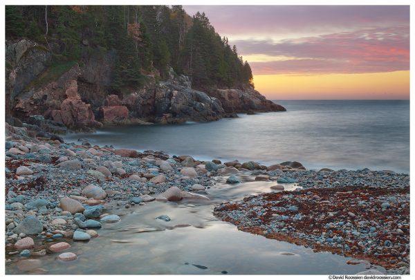 Hunters Beach Sunrise, Acadia National Park, Maine