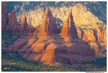 Red Rock Pinnacles in Sedona, Arizona