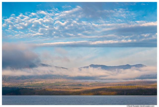 Lake McDonald, Apgar Mountains and Sky, Glacier National Park, Montana