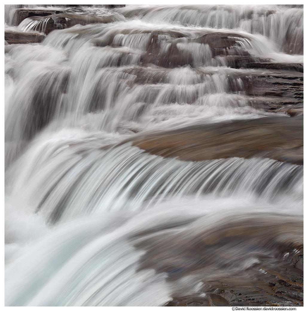 McDonald Falls, Glacier National Park, Montana