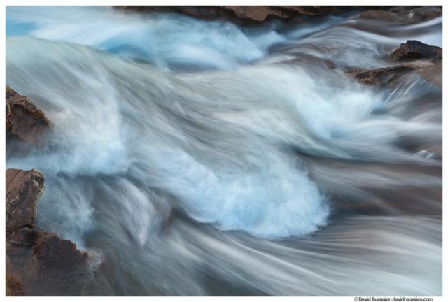 St. Mary River Detail, Glacier National Park, Montana