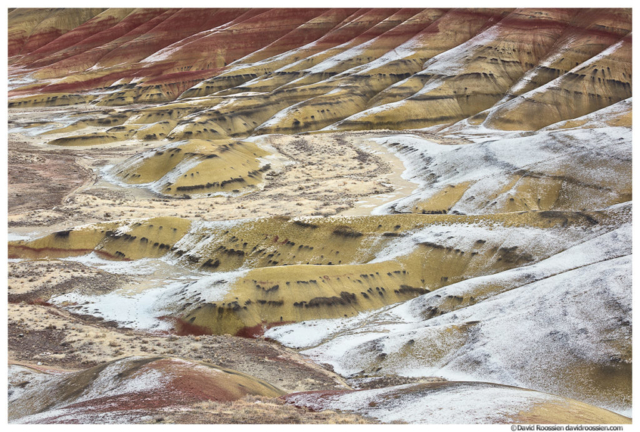 Frozen Valley, Painted Hills of Oregon