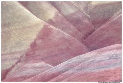 Pastel Painted Hills of Mitchell, Oregon