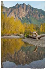Mount Si Reflection, North Bend, Washington State