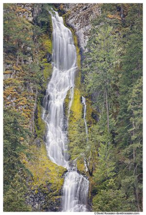 Skookum Falls, Mather Memorial Parkway, Mount Rainier National Park